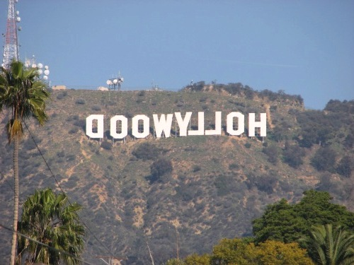 Звезда в Голливуде