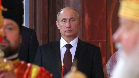 Пасха. Путин собирается посетить храм Христа Спасителя (Россия новости 10.04.2015)