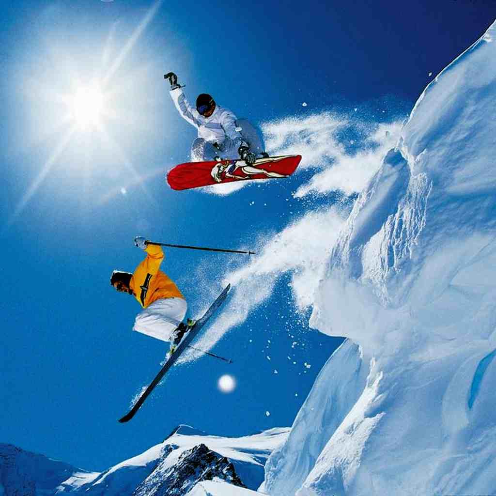 Горные лыжи — учимся падать