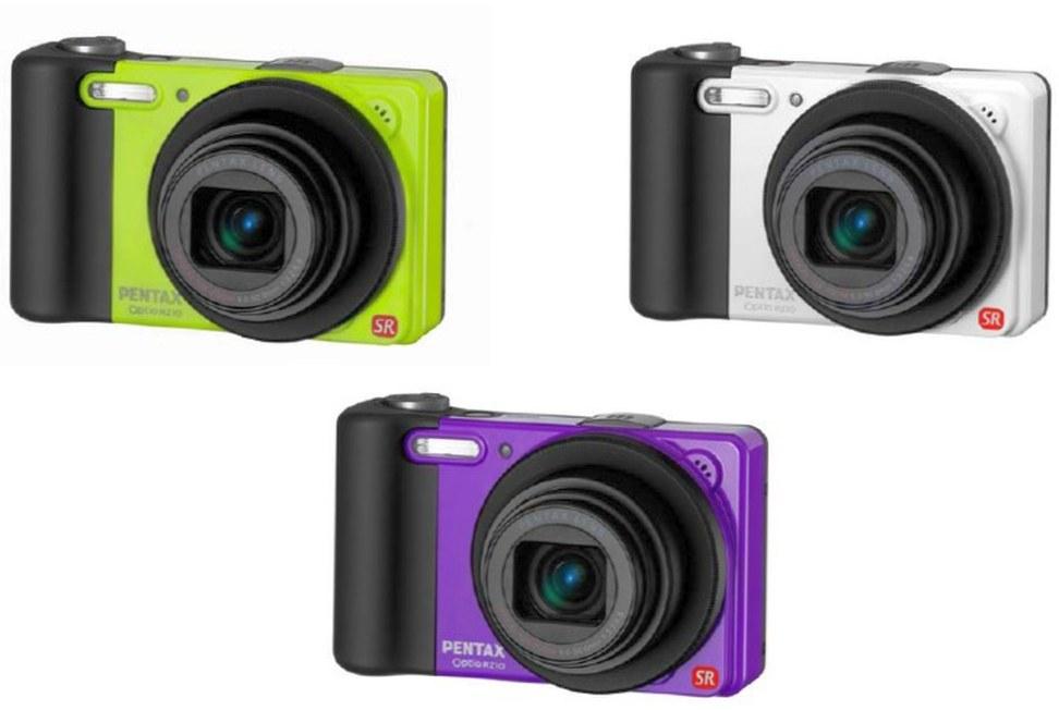 Как кастомизировать фотоаппарат PENTAX Optio RS1000?