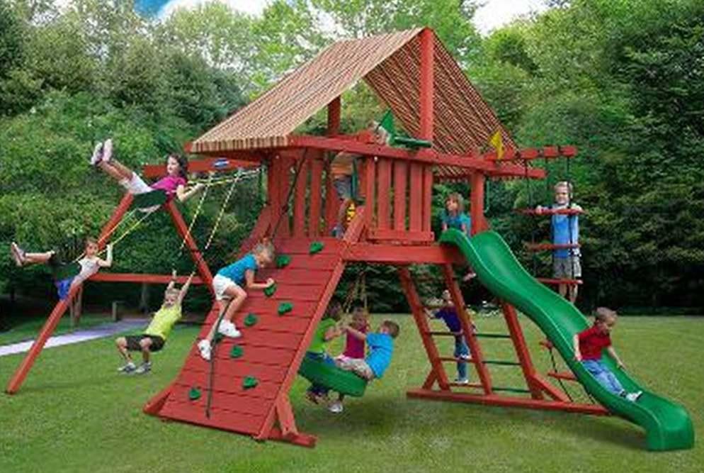 Где заказывать детские игровые площадки?