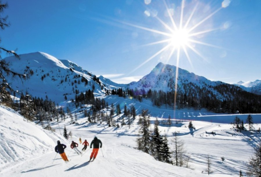 Какой курорт выбрать для катания на лыжах?