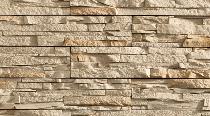 Где используется декоративная плитка под камень?
