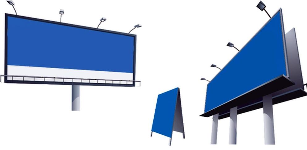 О наружной рекламе и печати баннеров