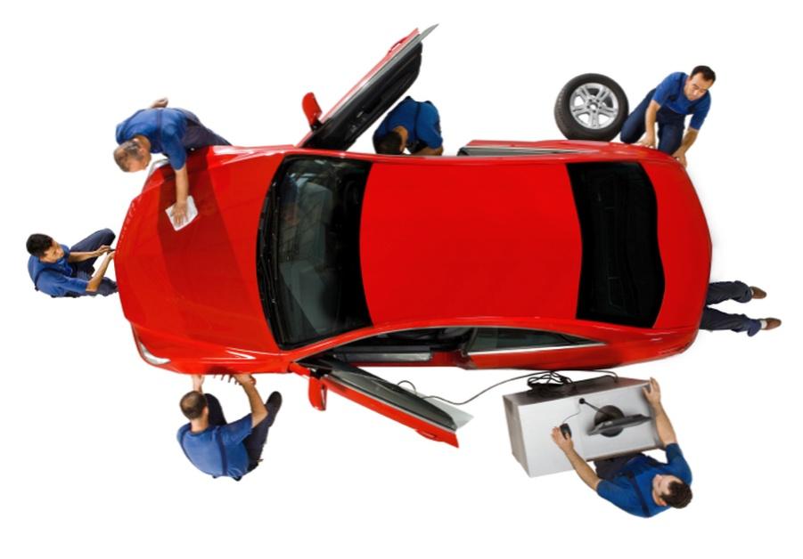 О  ремонте и техобслуживании автомобилей