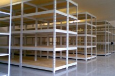 Из чего изготавливают архивные стеллажи металлические?